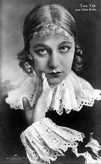 Tora Teje som Ebba Brahe 1917