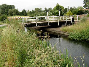 North Petherton - Crossways Swing Bridge at North Newton