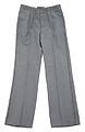 Swiss Army gray wool blend trousers (15367958348).jpg