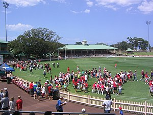 North Sydney Oval - The oval in 2004
