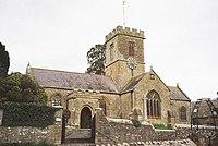 Symondsbury, parish church of St. John the Baptist - geograph.org.uk - 525967.jpg