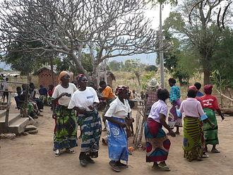 Tumbuka people - A Tumbuka women group dance.