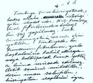 Mustafa Kemal Atatürk/Din - Vikisöz