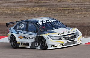 TC 2000 Championship - Chevrolet Official Team Cruze racing car in 2011.