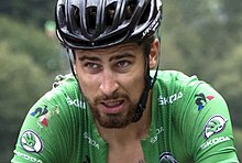 Peter Sagan (pictured on stage seventeen) was the pre-race favourite for  the points classification. 98a83fe18