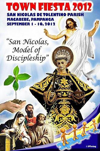 Nicholas of Tolentino - San Nicolas de Tolentino in Macabebe