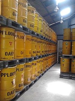 TINT Radioactive wastes' barrel.jpg