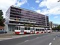 TLT tram line 2 at Nordic Hotel Forum.jpg
