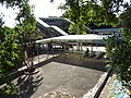 TRA Qiding Station footbridge and Platform 1 waiting zone 20170820.jpg
