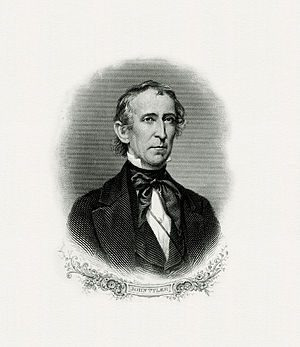 Inauguration of John Tyler