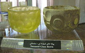 Sasanian glass - Sassanid glass bowls.
