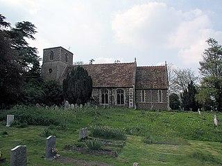 Tadlow Human settlement in England