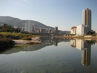 Takarazuka, Hyōgo city in Kansai, Japan