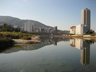 Takarazuka, Hyōgo - View of the City in Muko River