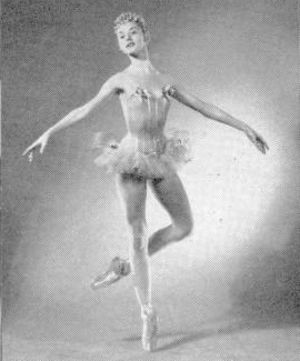 Tanaquil Le Clercq - Le Clercq as Dewdrop of the Candy Flowers in The Nutcracker, 1954