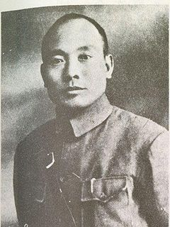 Tang Enbo Chinese general