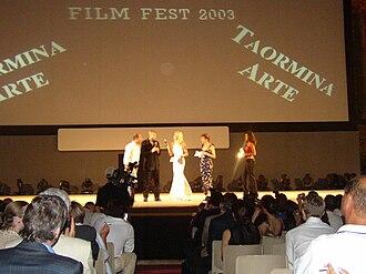 Taormina Film Fest - Director Joel Schumacher at Taormina Film Fest in 2003 (Italian premiere of Phone Booth)