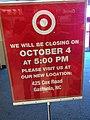 Target Closing Sign Gastonia, NC (6995771381).jpg