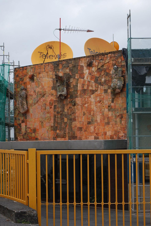 Televes Conxo fachada da fábrica