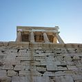 Temple d'Atena Nike des de baix.JPG