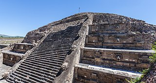 Temple of the Feathered Serpent, Teotihuacan pre-Columbian Mesoamerican step pyramid at Teotihuacan