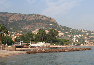 Jamila M'Barek - Théoule-sur-Mer in France where the body of Anthony Ashley-Cooper, 10th Earl of Shaftesbury, was found