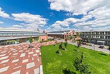 TH Wildau Hall 17 with campus