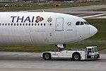 """Thai Airways International Airbus A340-642 HS-TNF """"Mae Hong Son"""" (23980433714).jpg"""