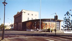 State Library of Queensland - The old State Library with extension, built in the late 1950s