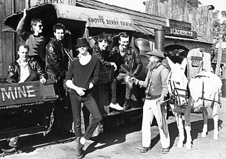 The Boomtown Rats - The Boomtown Rats at Knott's Berry Farm in 1981