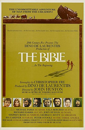 Description de l'image The Bible... In the Beginning theatrical poster.jpg.