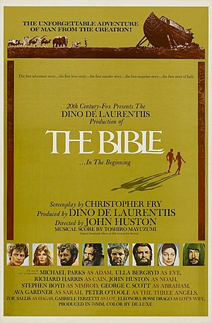 The Bible: In the Beginning... - Original film poster