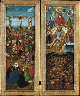 The Crucifixion; The Last Judgment MET DT25