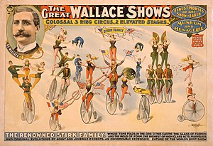 Bleistein v. Donaldson Lithographing Co. - One of the three circus posters at the center of the case.