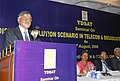"""The Judge, Supreme Court of India, Justice P. Sathasivam addressing at a Seminar on """"Dispute Resolution Scenario in Telecom and Broadcasting Sectors"""", organised by Telecom Disputes Settlement & Appellate Tribunal (TDSAT).jpg"""