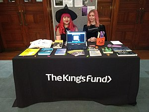 King's Fund - The King's Fund staff at the School of Advanced Study History Day, October 2017.