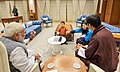 The King of Bhutan, His Majesty Jigme Khesar Namgyel Wangchuck, the Bhutan Queen, Jetsun Pema Wangchuck and Crown Prince meeting the Prime Minister, Shri Narendra Modi, at 7, Lok Kalyan Marg, in New Delhi (1).jpg