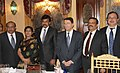 The Minister of State (Independent Charge) for Tourism, Dr. K. Chiranjeevi with the Secretary General, UNWTO, Mr. Taleb Rifai, in Madrid, Spain on February 01, 2013.jpg