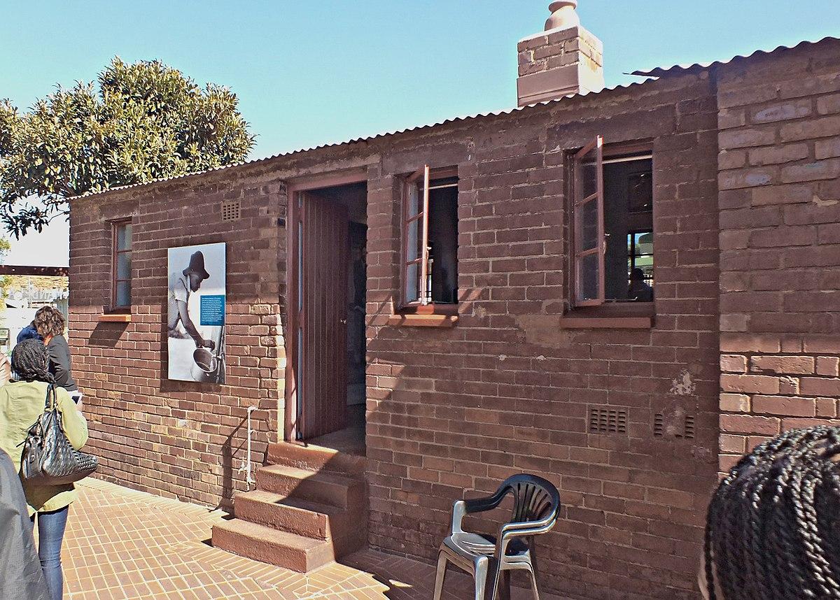 Mus e nelson mandela de soweto wikip dia for Angelina maison de l afrique