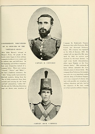 18th Virginia Infantry - Image: The Photographic History of The Civil War Volume 08 Page 117