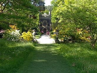 Bodnant Garden - The Poem at Bodnant Garden