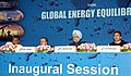 The Prime Minister, Dr. Manmohan Singh, at the inauguration of 9th International Oil and Gas Conference and Exhibition (Petrotech) 2010, in New Delhi on November 01, 2010.jpg