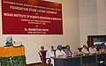The Prime Minister, Dr. Manmohan Singh addressing at the foundation stone laying ceremony of Indian Institute of Science Education and Research (IISER) at Mohali, Punjab on September 27, 2006.jpg