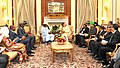 The Prime Minister, Shri Narendra Modi meeting the President of Chad, Mr. Idriss Deby, during the 3rd India Africa Forum Summit, in New Delhi on October 28, 2015 (2).jpg