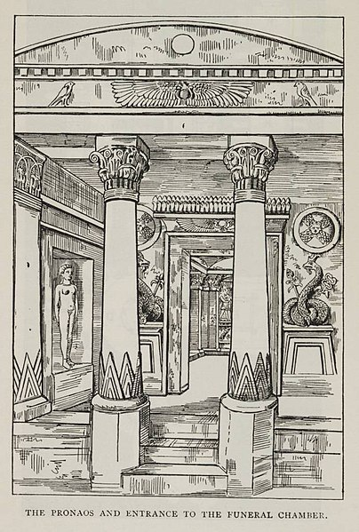 File:The Pronaos and Entrance to the Funeral Chamber. (1902) - TIMEA.jpg