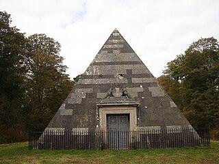 Blickling Park mausoleum Building in Norfolk, England