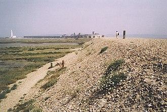 Hurst Spit - Image: The Shingle Spit at Hurst Beach geograph.org.uk 178625