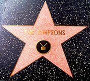 Los Simpson han ganado una estrella en el Paseo de la Fama de Hollywood.