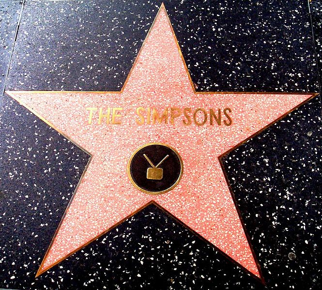 Ficheiro:The Simpsons-Walk of Stars-Flickr-doctorow-3342342.jpg