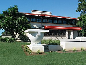 The Westcott House by Frank Lloyd Wright